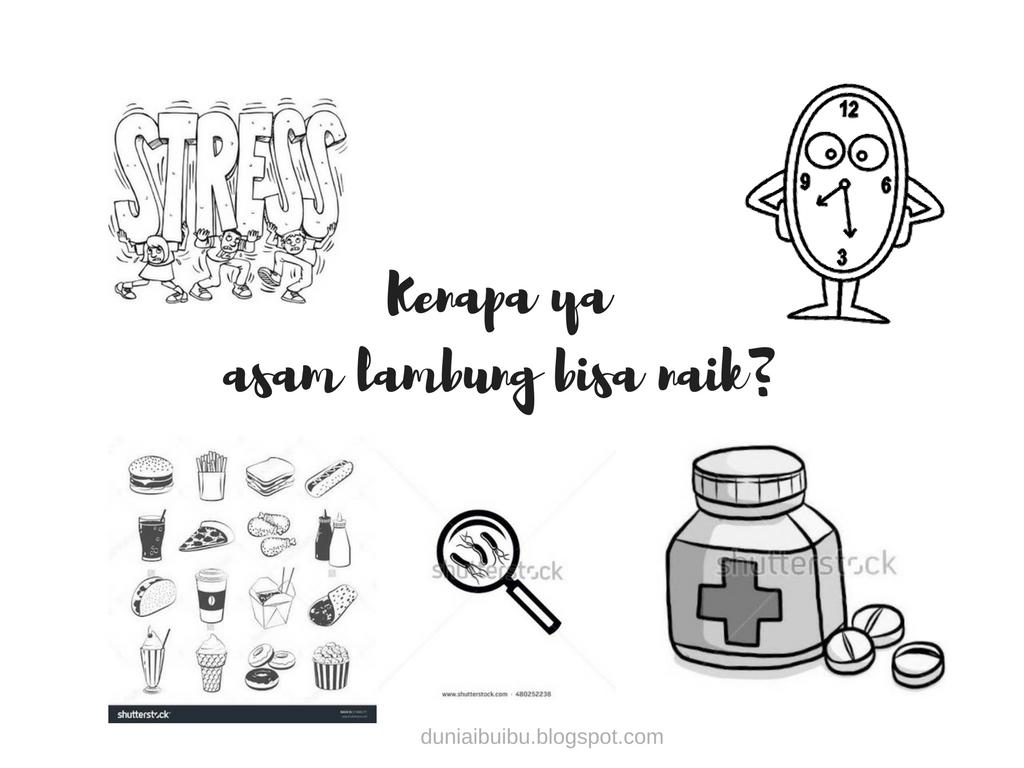 Hindari stres dan bebas maag