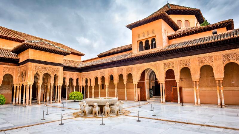 Taman SInga di ALhambra