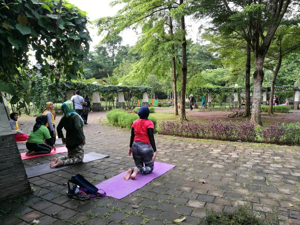 Taman sebagai paru-paru kota