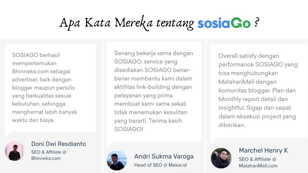 LOmba blog sosiago influencer marketing