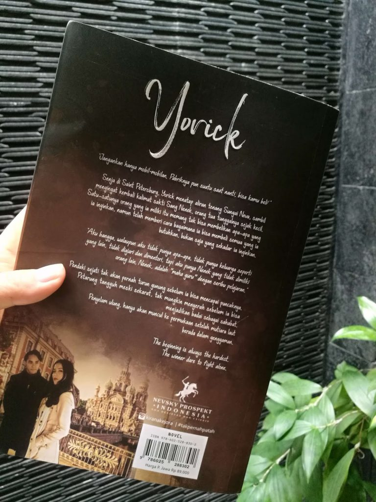 Lomba resensi novel Yorick