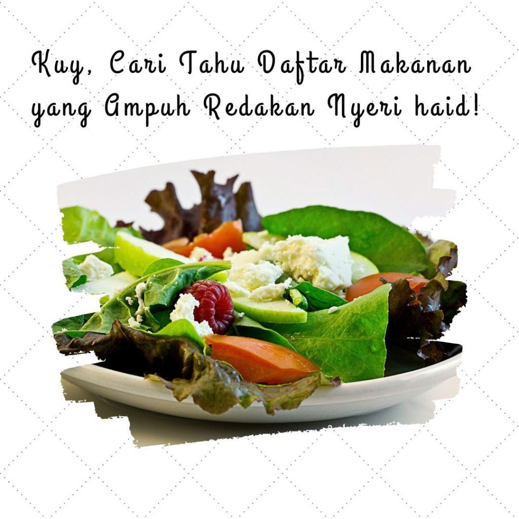 Daftar Makanan yang ampuh Redakan Nyeri Haid