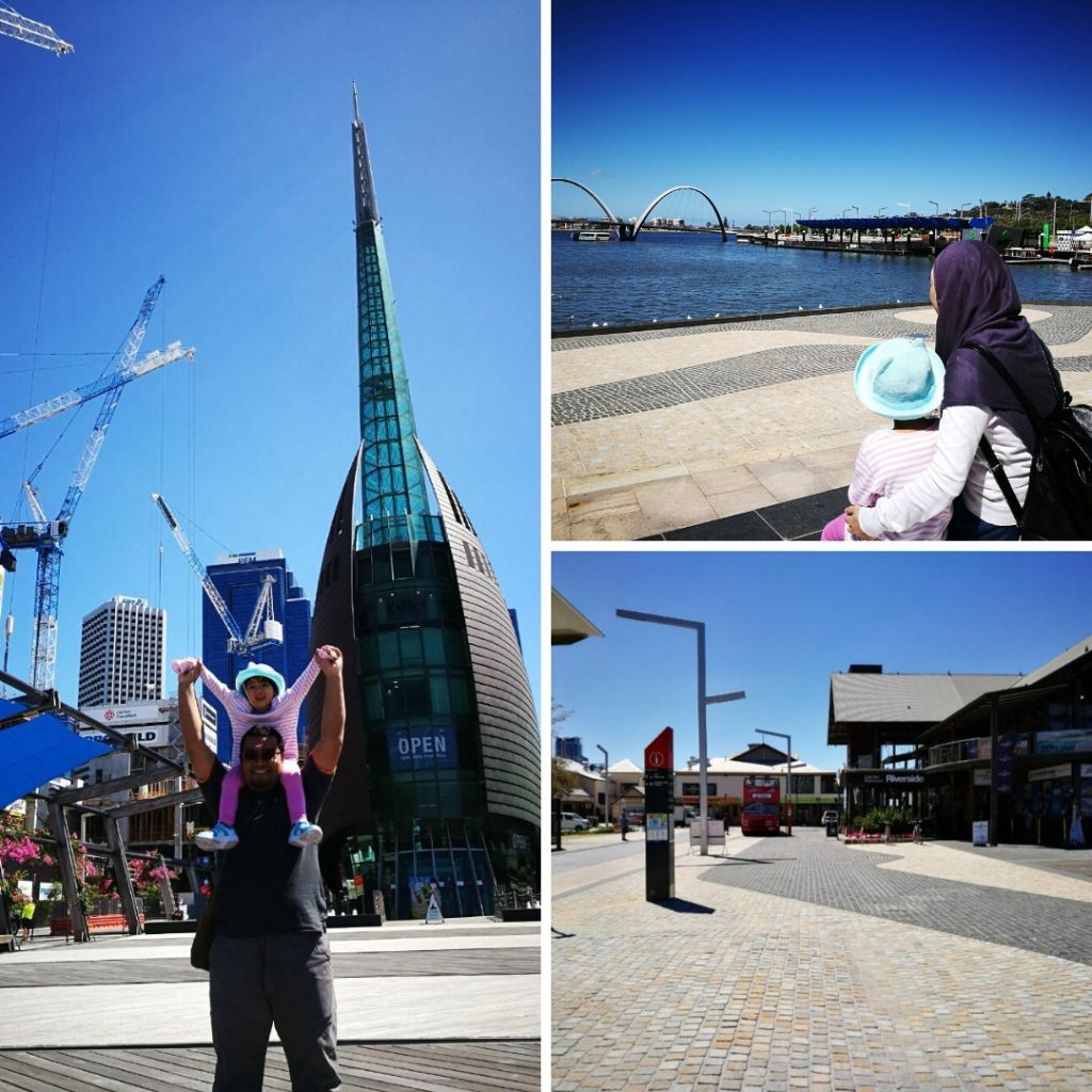 CBD Perth dan Elizabeth Quay