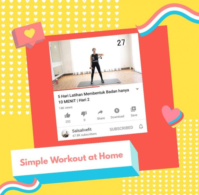 Workout di rumah