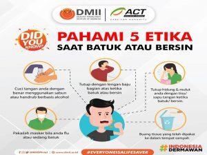 Pahami 5 etika batuk