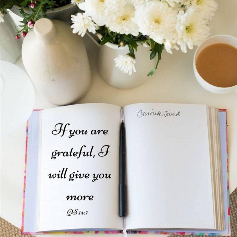 Bersyukur Menyejukkan Hati