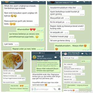 Testimoni Berkah Chicken Jakarta Selatan